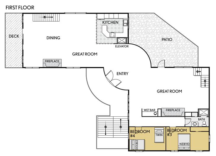 Abercrombie kent residence club deer valley utah for Utah floor plans