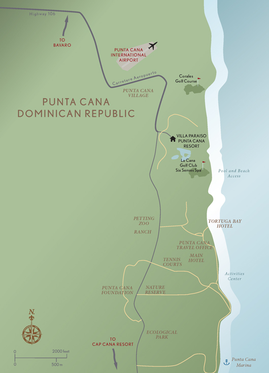 Punta Cana Location On World Map.Abercrombie Kent Residence Club Punta Cana Dominican Republic